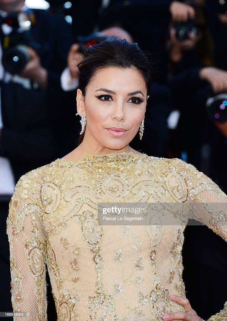 Actress Eva Longoria attends the Premiere of 'Le Passe' (The Past) during The 66th Annual Cannes Film Festival at Palais des Festivals on May 17, 2013 in Cannes, France.