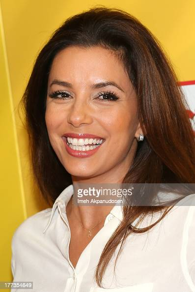 Actress Eva Longoria attends the premiere of Pantelion Films' 'Instructions Not Included' at TCL Chinese Theatre on August 22 2013 in Hollywood...
