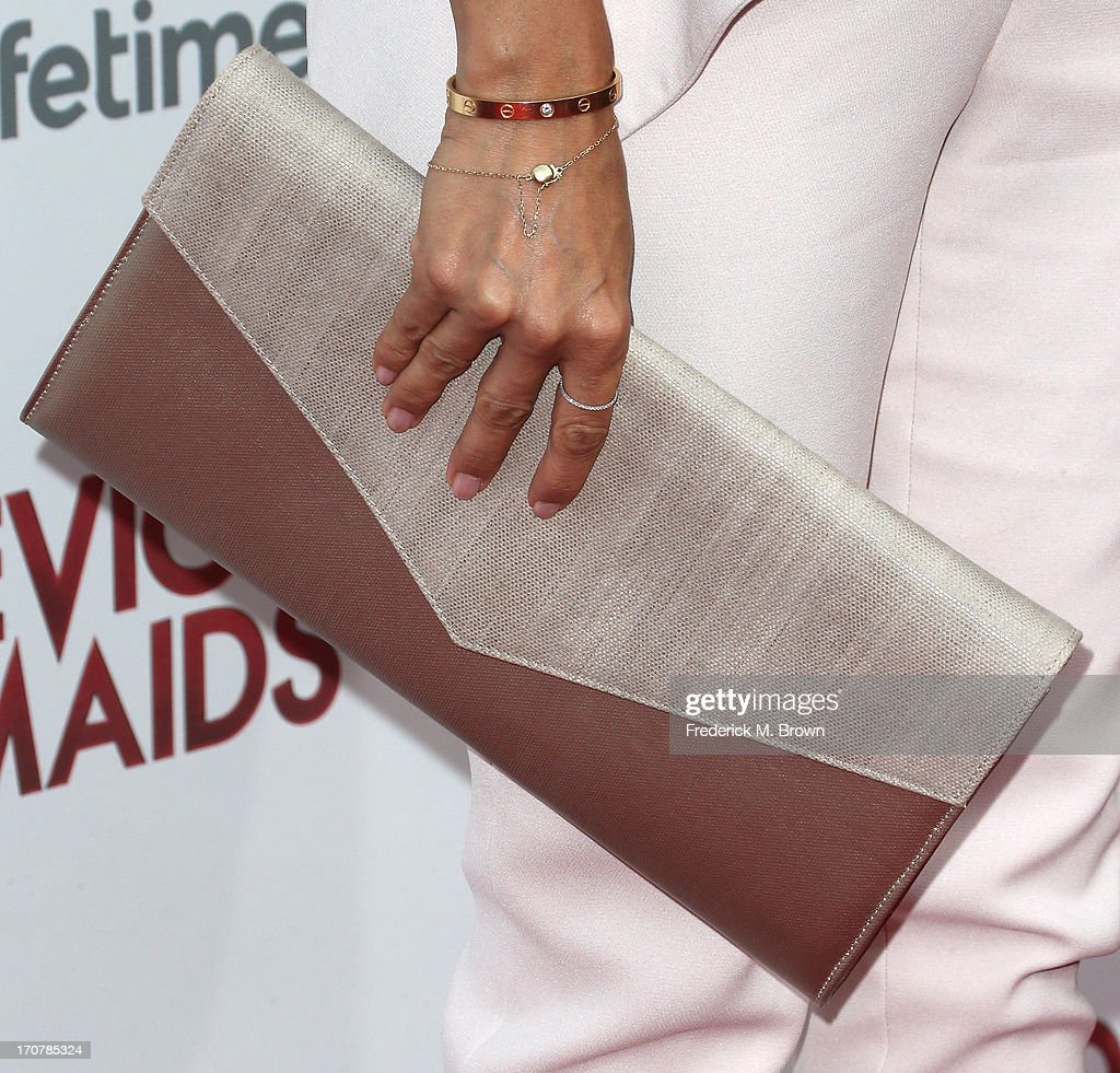Actress Eva Longoria attends the premiere party of Lifetime Original Series 'Devious Maids' at the Bel-Air Bay Club on June 17, 2013 in Pacific Palisades, California.