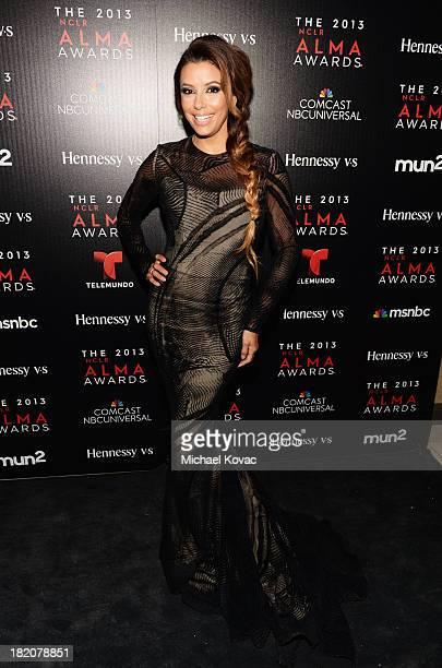 Actress Eva Longoria attends the Producer's post party during the 2013 NCLR ALMA Awards on September 27 2013 in Pasadena California