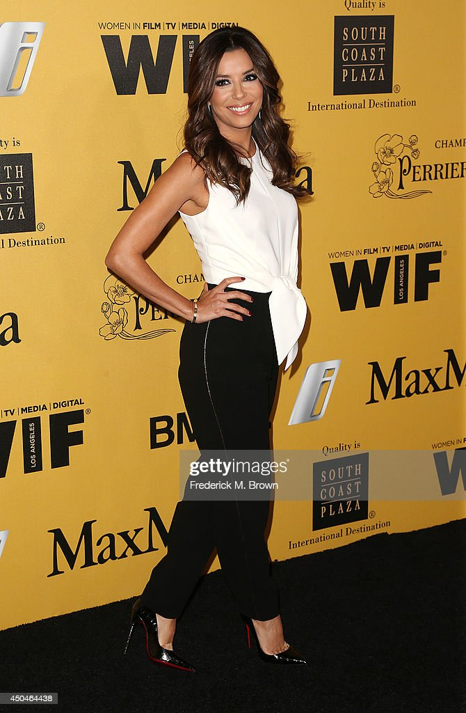 Actress Eva Longoria attends the Women In Film, Los Angeles Presents the 2014 Crystal + Lucy Awards at the Hyatt Regency Century Plaza Hotel on June 11, 2014 in Century City, California.