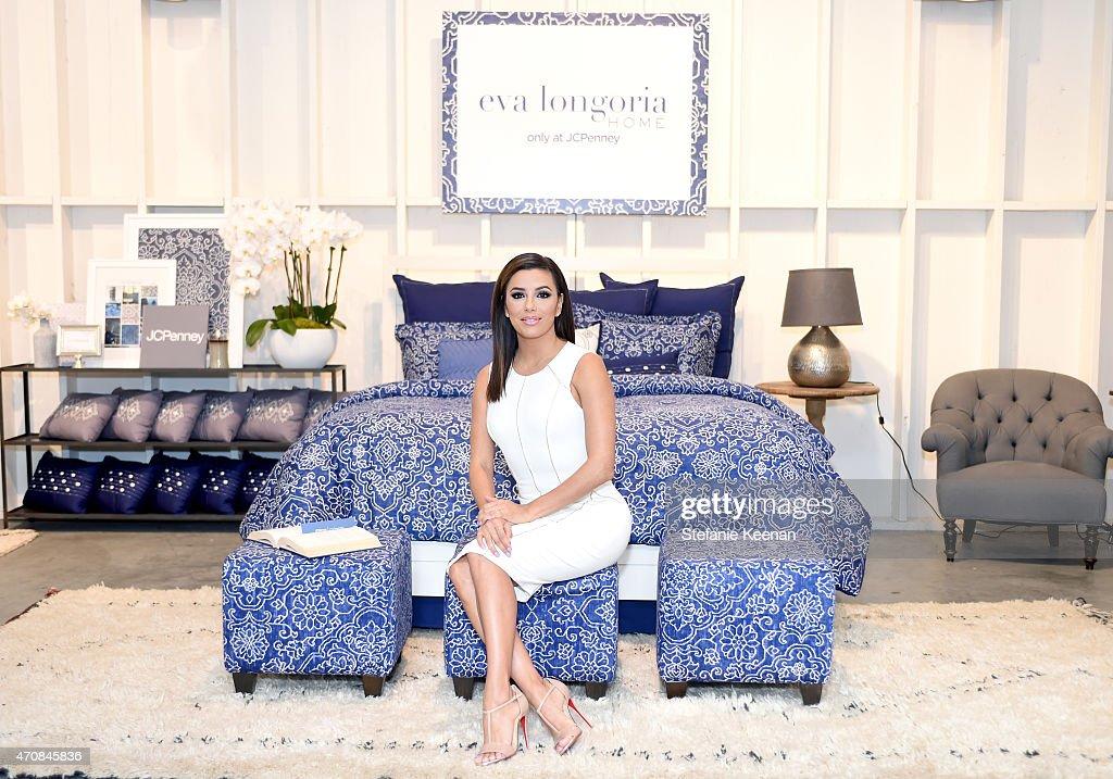 Eva longoria home collection only at jcpenney launch event for Eva longoria san antonio home