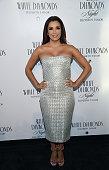 Actress Eva Longoria cohosts White Diamonds Elizabeth Taylor fragrance 25th anniversary celebration and White Diamonds Night launch at The...