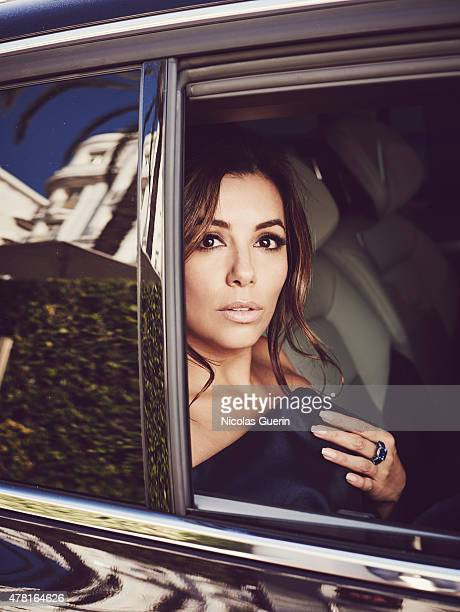 Actress Eva Longoria is photographed for Self Assignment on May 15 2015 in Cannes France
