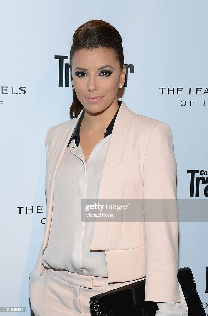 Actress Eva Longoria joins Conde Nast Traveler as they celebrate The Leading Hotels Of The World 85th Anniversary at Mr. C Beverly Hills on February 13, 2013 in Beverly Hills, California.