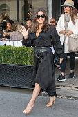 Celebrity Sightings In Paris - September 24, 2018
