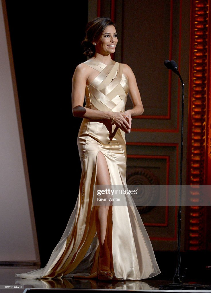 Actress <a gi-track='captionPersonalityLinkClicked' href=/galleries/search?phrase=Eva+Longoria&family=editorial&specificpeople=202082 ng-click='$event.stopPropagation()'>Eva Longoria</a> onstage at the 2012 NCLR ALMA Awards at Pasadena Civic Auditorium on September 16, 2012 in Pasadena, California.