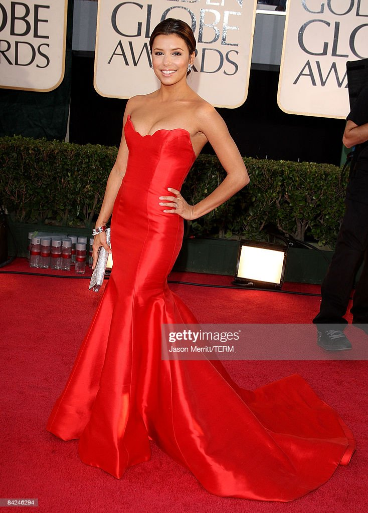 Actress Eva Longoria Parker arrives at the 66th Annual Golden Globe Awards held at the Beverly Hilton Hotel on January 11 2009 in Beverly Hills...