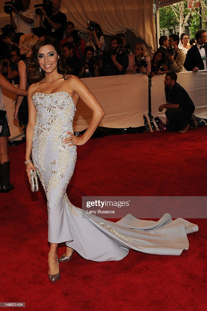 Actress Eva Longoria Parker attends the Costume Institute Gala Benefit to celebrate the opening of the 'American Woman: Fashioning a National Identity' exhibition at The Metropolitan Museum of Art on May 3, 2010 in New York City.