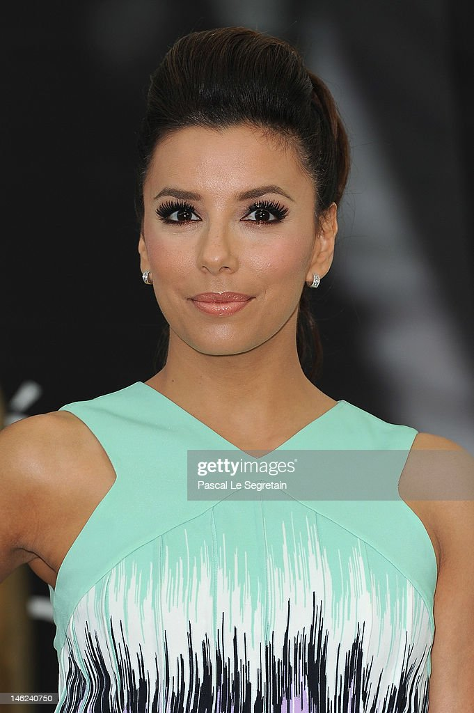 Actress Eva Longoria poses at a photocall for 'Desperate Housewives' during the 52nd Monte Carlo TV Festival on June 13, 2012 in Monte-Carlo, Monaco.