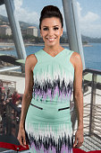 Actress Eva Longoria poses for a portrait session during the 52nd Monte Carlo TV Festival on June 13 2012 in Monaco