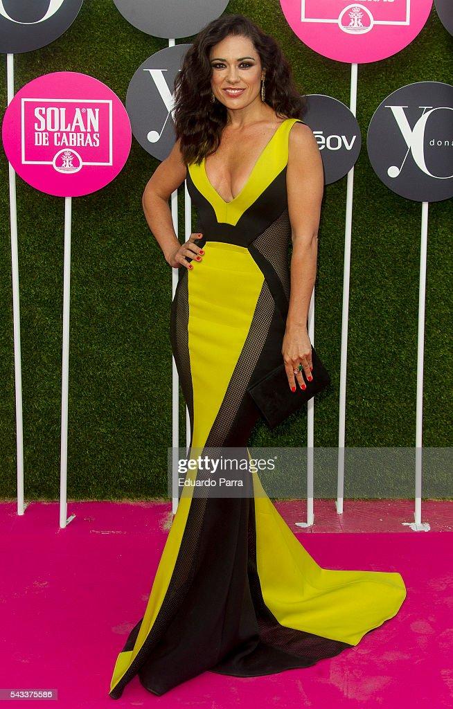 Actress Eva Maciel attends the 'Yo Dona' international awards at La Quinta de la Munoza on June 27, 2016 in Madrid, Spain.