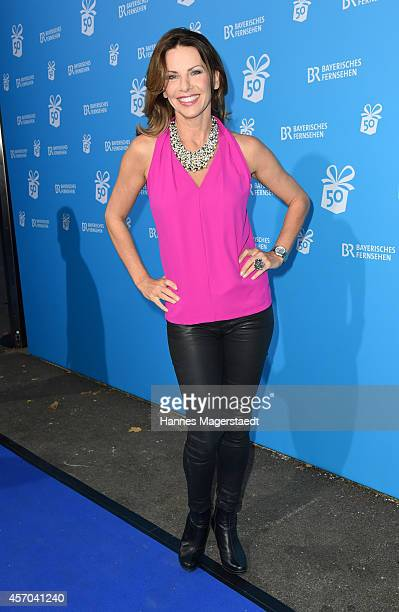 Actress Eva Maehl attends the BR 50 year anniversary gala at Bavaria Filmstadt Geiselgasteig on October 10 2014 in Munich Germany