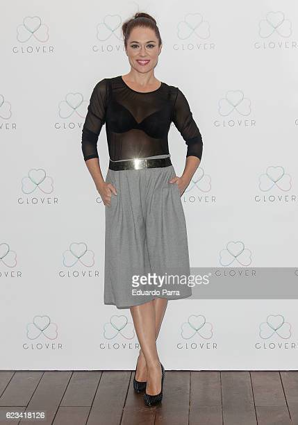 Actress Eva Marciel attends the 'Clover' photocall at Oscar hotel on November 15 2016 in Madrid Spain