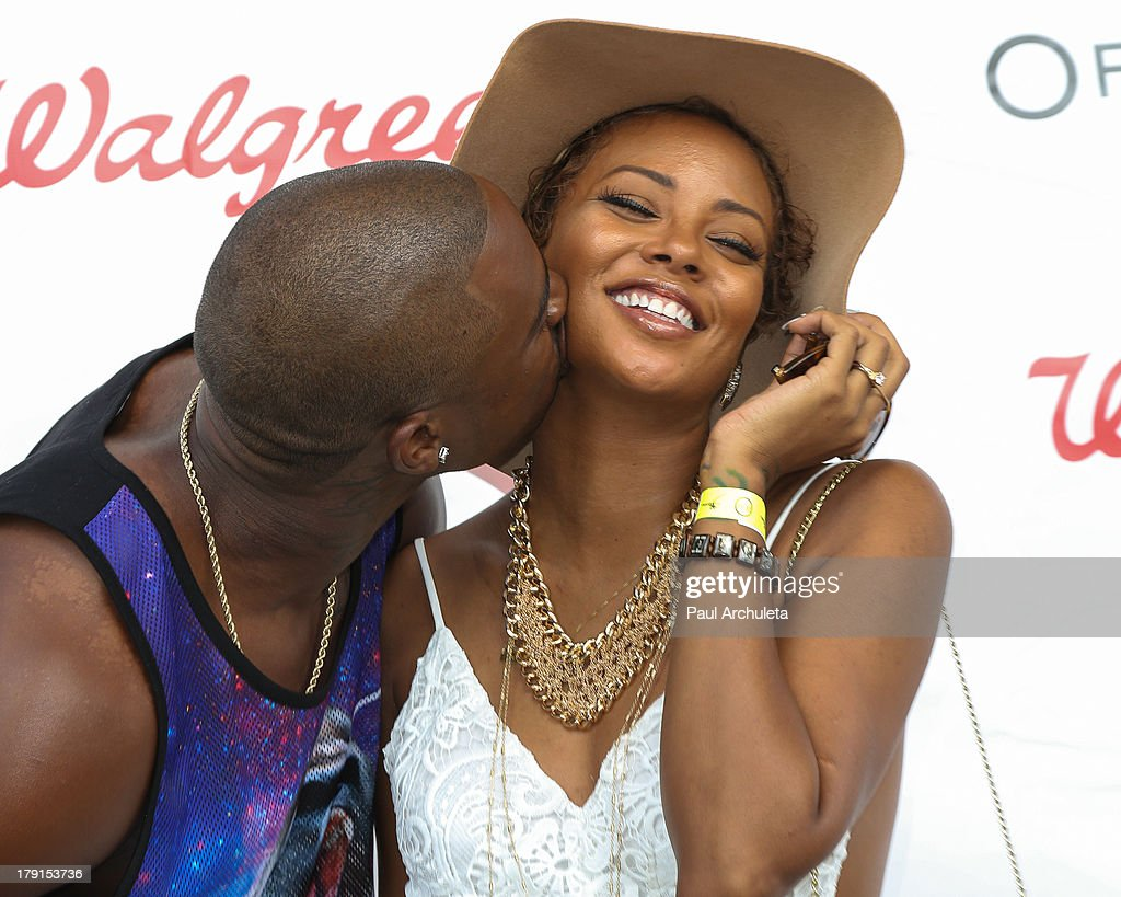 Actress Eva Marcille (R) and her Husband Recording Artist Kevin McCall (L) attend the Reed For Hope Foundation's 11th annual 'Sunshine Beyond Summer' celebration on August 31, 2013 in Westlake Village, California.