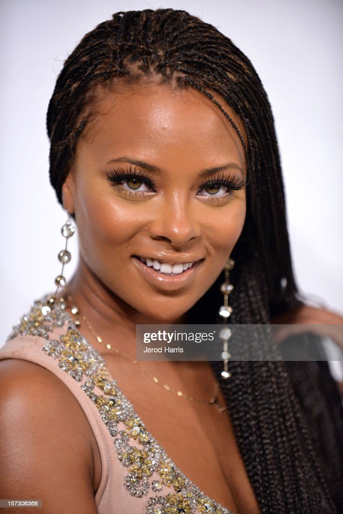 Actress Eva Marcille arrives at Let The Kids Grow Foundation Holiday Gala at the Beverly Wilshire Four Seasons Hotel on December 1, 2012 in Beverly Hills, California.
