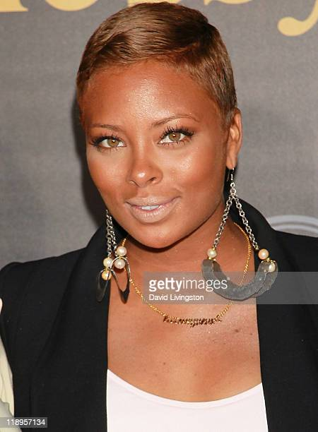 Actress Eva Marcille attends Hennessey's official ESPY preParty 'Vault Of Secrets' at Spot 5750 on July 12 2011 in Hollywood California