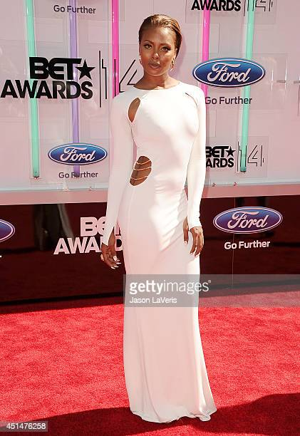 Actress Eva Marcille attends the 2014 BET Awards at Nokia Plaza LA LIVE on June 29 2014 in Los Angeles California