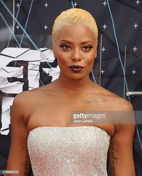 Actress Eva Marcille attends the 2015 BET Awards at the Microsoft Theater on June 28 2015 in Los Angeles California