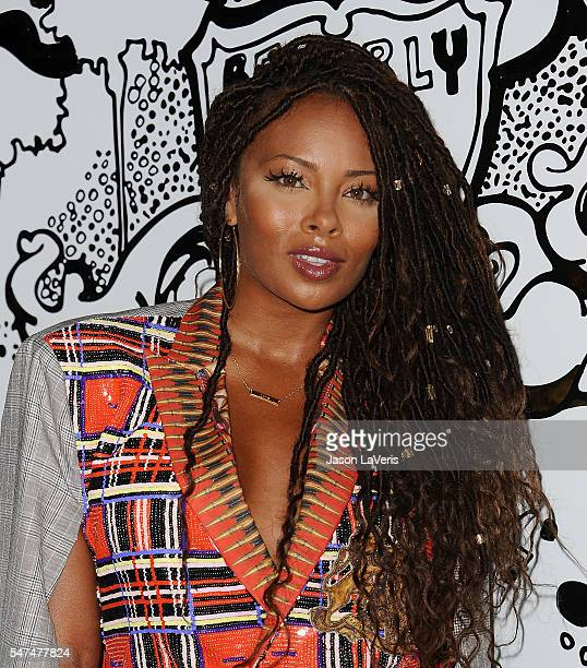 Actress Eva Marcille attends the launch of OUE Skyspace LA at US Bank Tower on July 14 2016 in Los Angeles California