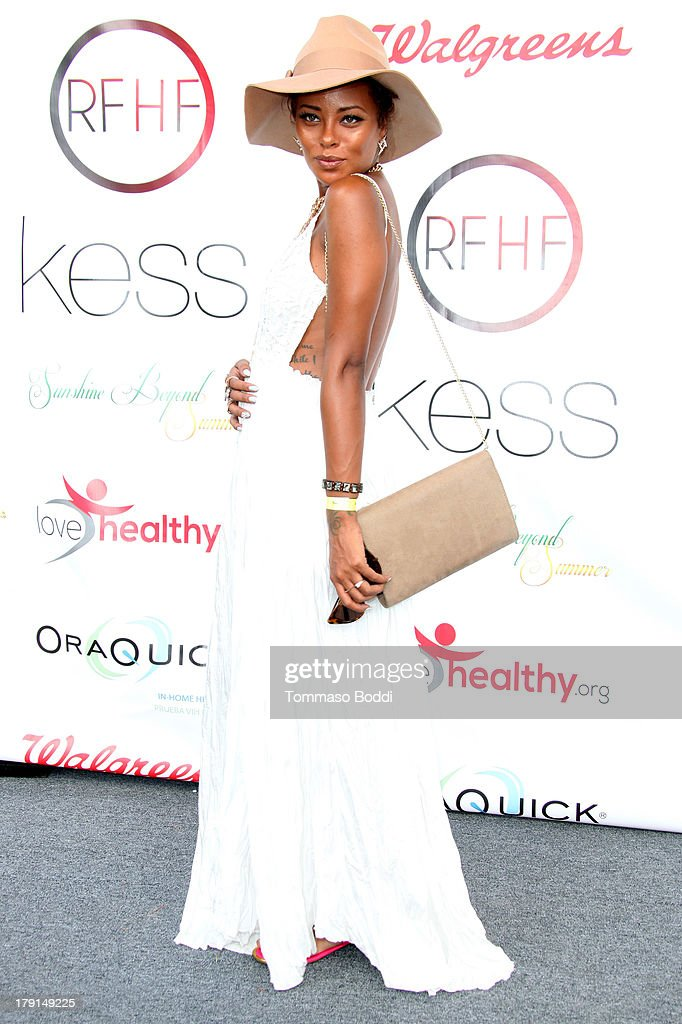Actress <a gi-track='captionPersonalityLinkClicked' href=/galleries/search?phrase=Eva+Marcille&family=editorial&specificpeople=208986 ng-click='$event.stopPropagation()'>Eva Marcille</a> attends the Reed For Hope Foundation's 11th annual 'Sunshine Beyond Summer' celebration on August 31, 2013 in Westlake Village, California.