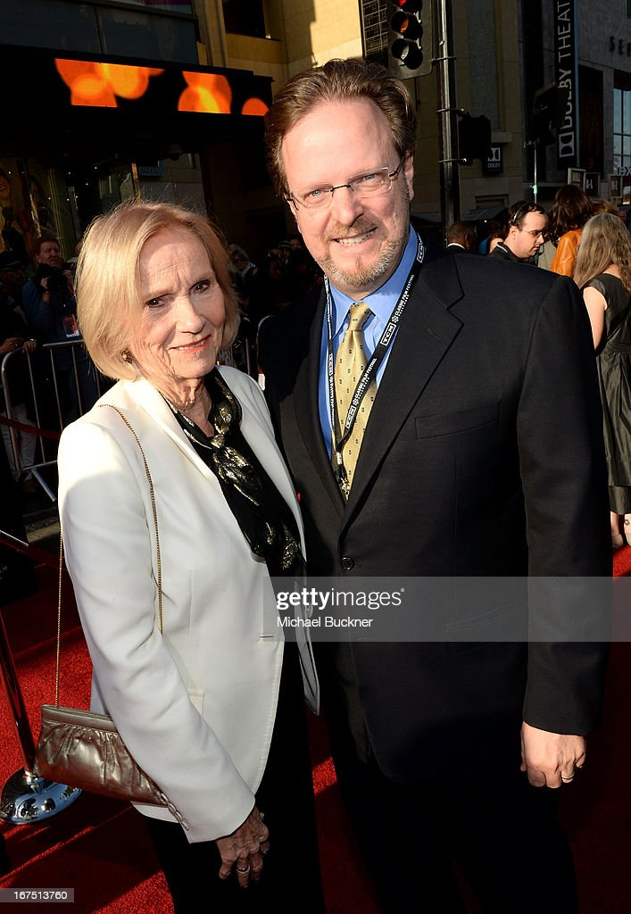 Actress Eva Marie Saint and AFI president Bob Gazzale attend the 'Funny Girl' screening during the 2013 TCM Classic Film Festival Opening Night at TCL Chinese Theatre on April 25, 2013 in Los Angeles, California. 23632_007_MB_0574.JPG
