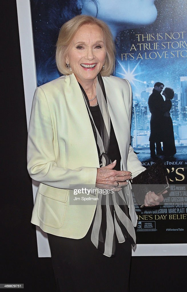 Actress Eva Marie Saint attends the 'Winter's Tale' world premiere at Ziegfeld Theater on February 11, 2014 in New York City.