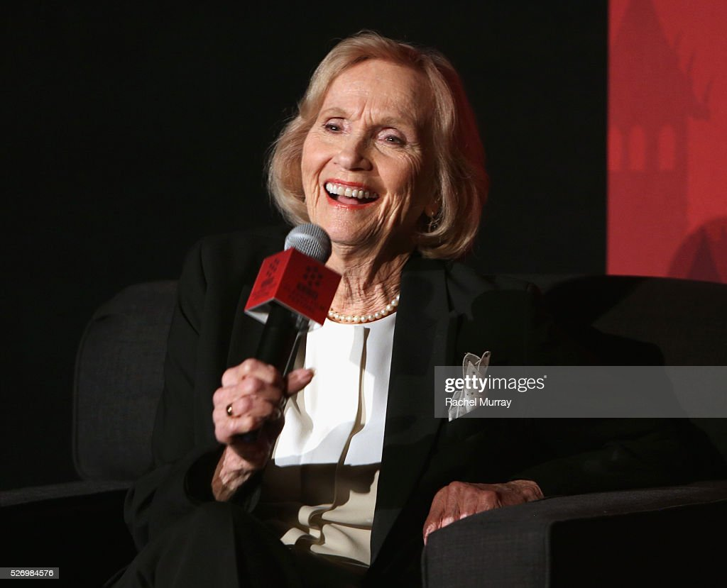 Actress Eva Marie Saint speaks onstage during 'The Russians Are Coming, the Russians Are Coming' screening during day 4 of the TCM Classic Film Festival 2016 on May 1, 2016 in Los Angeles, California. 25826_007