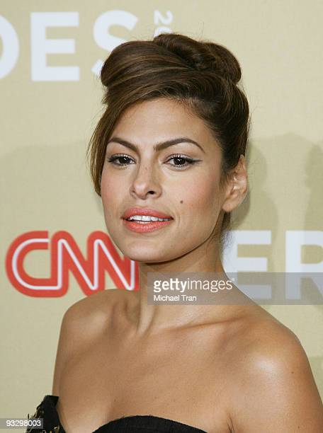 Actress Eva Mendes arrives to the 3rd Annual 'CNN Heroes An AllStar Tribute' held at the Kodak Theatre on November 21 2009 in Hollywood California