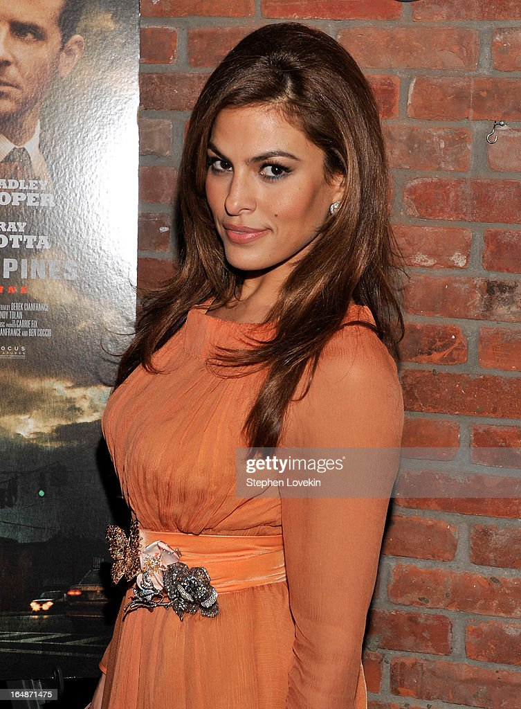 Actress Eva Mendes attends 'The Place Beyond The Pines' New York Premiere After Party at The Bowery Hotel on March 28, 2013 in New York City.