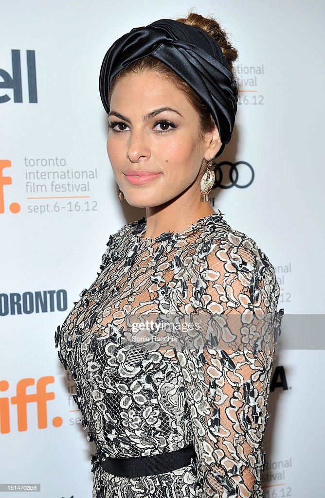 Actress Eva Mendes attends 'The Place Beyond The Pines' premiere during the 2012 Toronto International Film Festival at Princess of Wales Theatre on September 7, 2012 in Toronto, Canada.