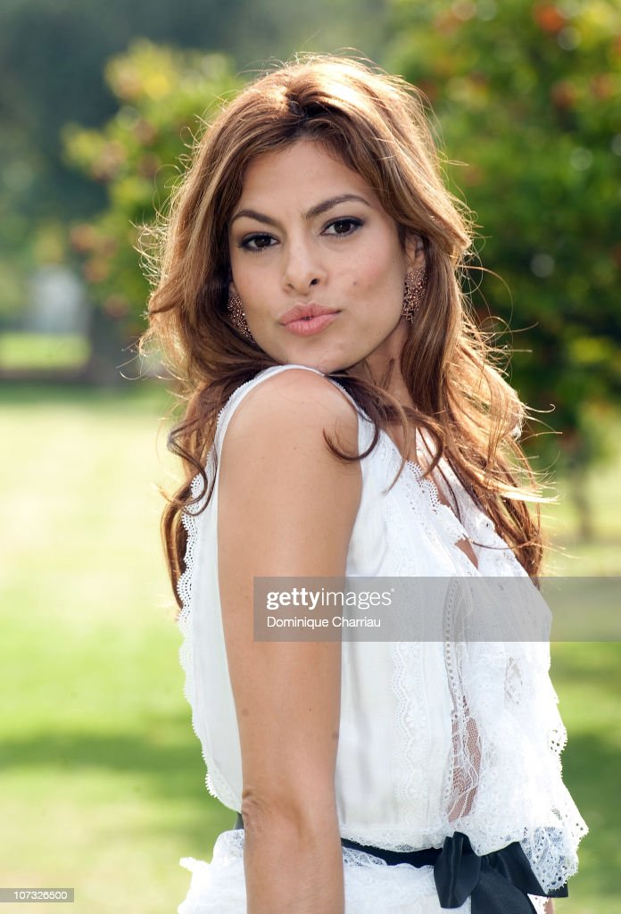 Actress Eva Mendes poses for a Photocall during the 10th Marrakech Film Festival on December 4 2010 in Marrakech Morocco