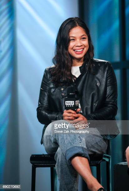 Actress Eva Noblezada attends Build Series to discuss her Broadway debut in 'Miss Saigon' at Build Studio on May 30 2017 in New York City