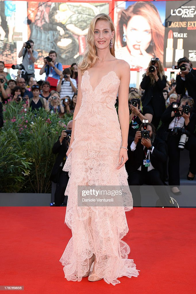 Actress Eva Riccobono attends 'Gravity' premiere and Opening Ceremony during The 70th Venice International Film Festival at Sala Grande on August 28, 2013 in Venice, Italy.