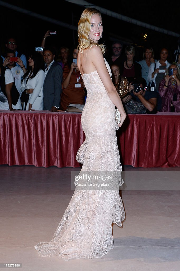 Actress Eva Riccobono attends the Opening Dinner Arrivals during the 70th Venice International Film Festival at the Hotel Excelsior on August 28, 2013 in Venice, Italy.