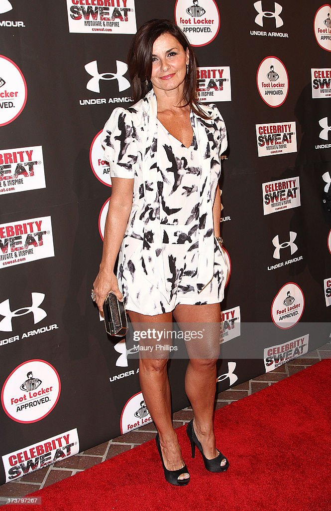 Actress Eva Tamargo arrives at the 2013 ESPY Awards - After Party at The Palm on July 17, 2013 in Los Angeles, California.