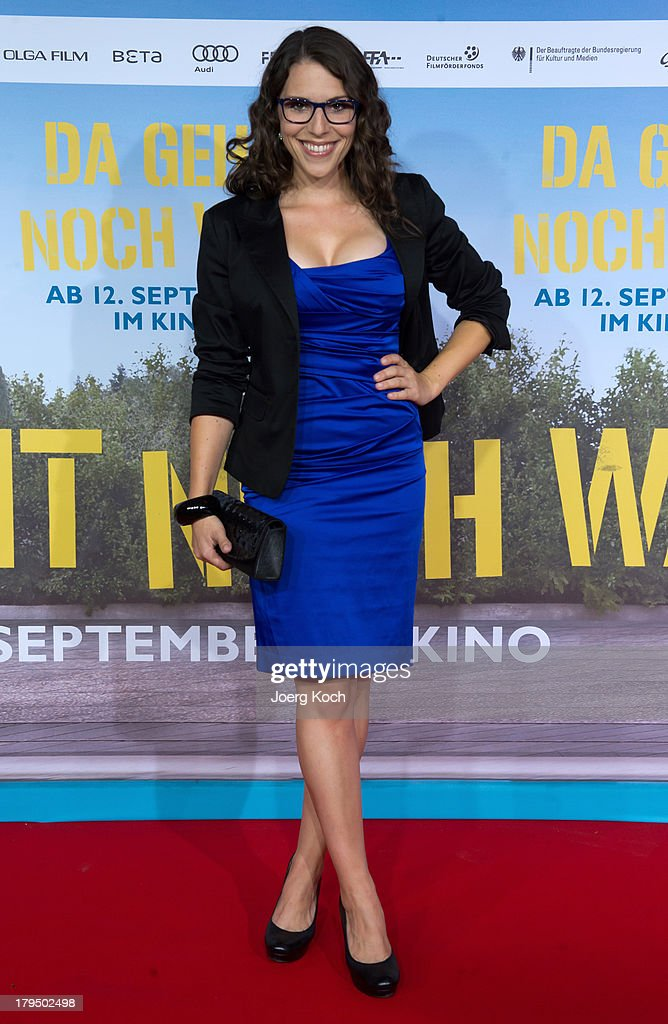 Actress Eva-Maria Reichert poses at the 'Da geht noch was' Germany premiere at Mathaeser on September 4, 2013 in Munich, Germany.