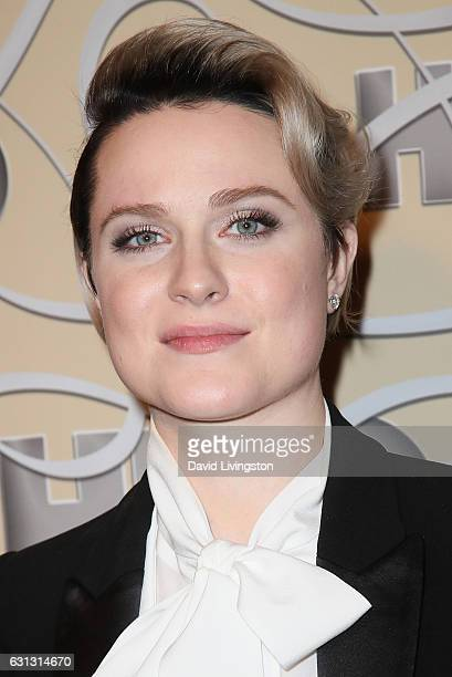 Actress Evan Rachel Wood arrives at HBO's Official Golden Globe Awards after party at the Circa 55 Restaurant on January 8 2017 in Los Angeles...