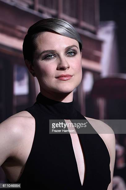 Actress Evan Rachel Wood arrives at the Premiere of HBO's 'Westworld' Arrivals at TCL Chinese Theatre on September 28 2016 in Hollywood California