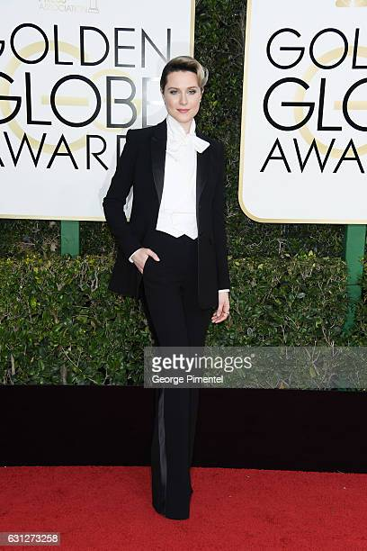 Actress Evan Rachel Wood attends 74th Annual Golden Globe Awards held at The Beverly Hilton Hotel on January 8 2017 in Beverly Hills California