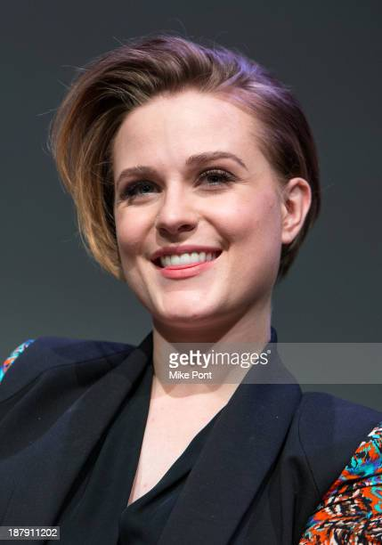 Actress Evan Rachel Wood attends 'Meet The Actor Charlie Countryman' at the Apple Store Soho on November 13 2013 in New York City