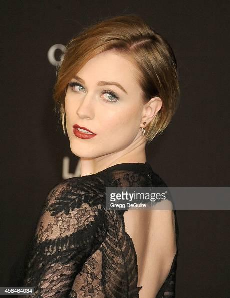 Actress Evan Rachel Wood attends the 2014 LACMA Art Film Gala Honoring ... Evan Rachel Wood
