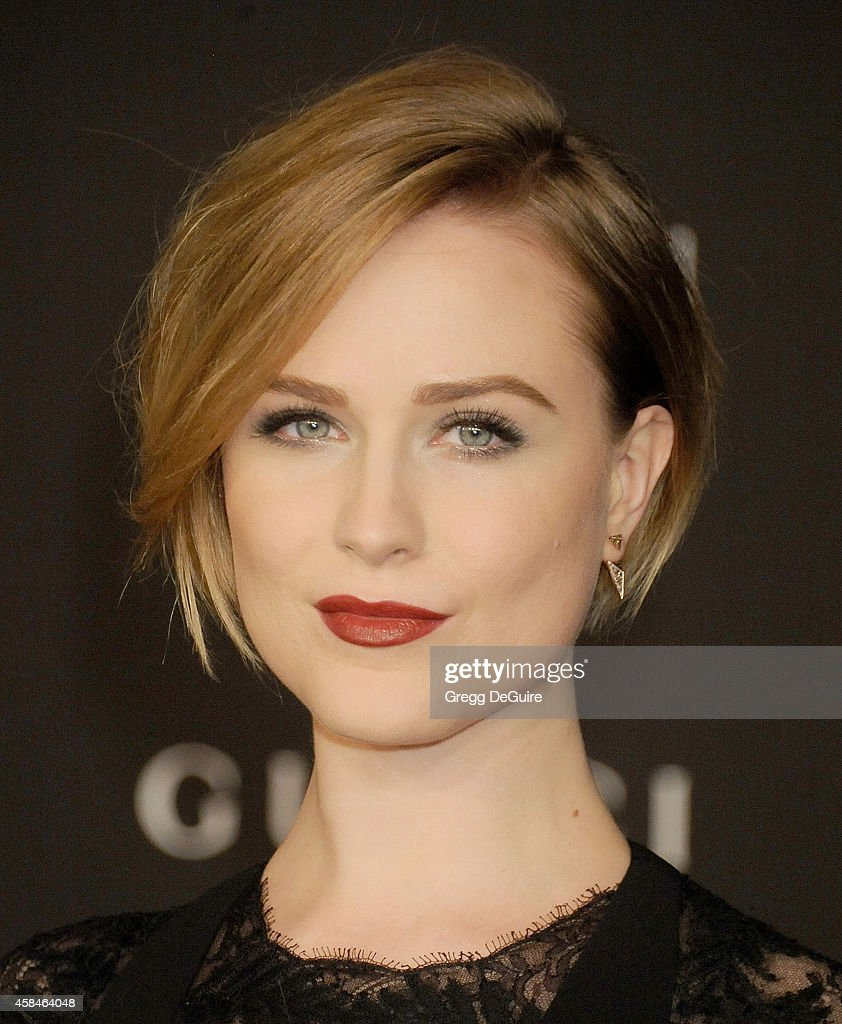 Actress Evan Rachel Wood attends the 2014 LACMA Art + Film Gala ... Evan Rachel Wood