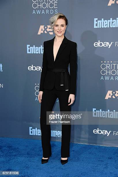 Actress Evan Rachel Wood attends The 22nd Annual Critics' Choice Awards at Barker Hangar on December 11 2016 in Santa Monica California