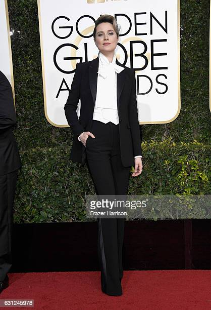 Actress Evan Rachel Wood attends the 74th Annual Golden Globe Awards at The Beverly Hilton Hotel on January 8 2017 in Beverly Hills California