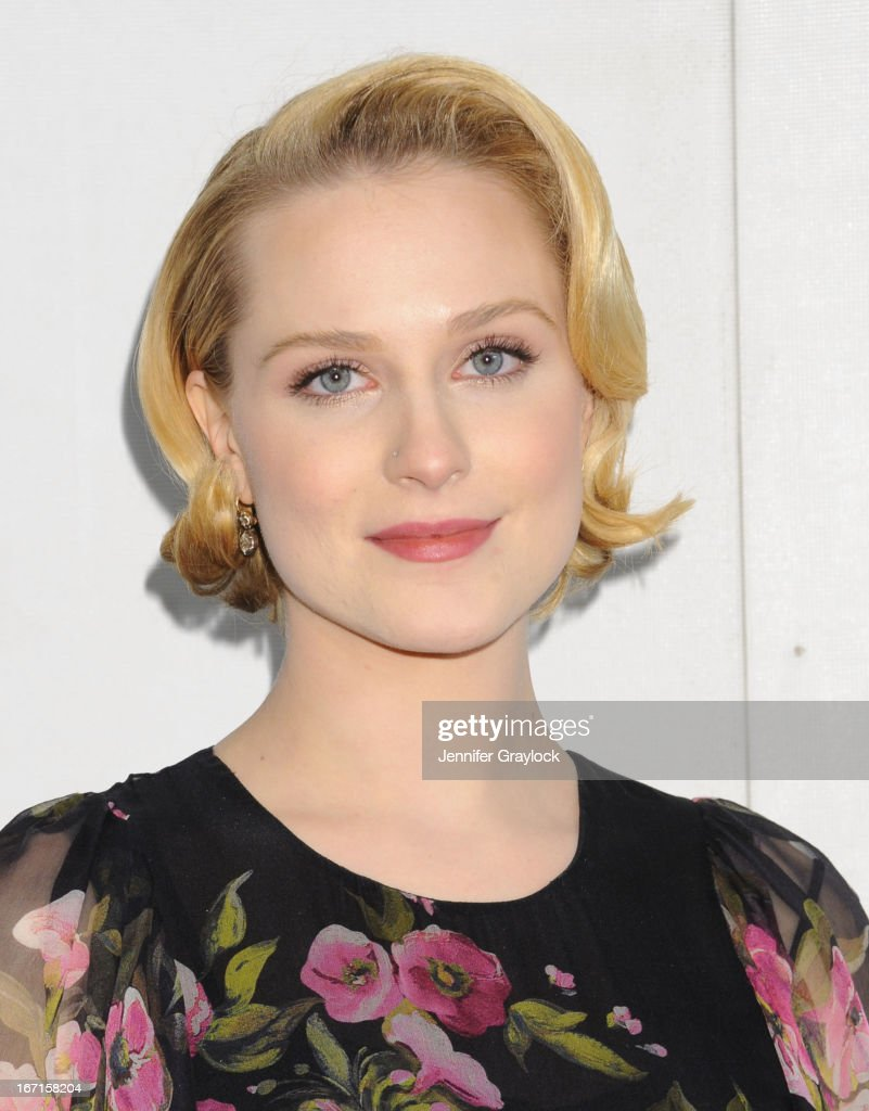 Actress <a gi-track='captionPersonalityLinkClicked' href=/galleries/search?phrase=Evan+Rachel+Wood&family=editorial&specificpeople=203074 ng-click='$event.stopPropagation()'>Evan Rachel Wood</a> attends the 'A Case Of You' World Premiere - 2013 Tribeca Film Festival at BMCC Tribeca PAC on April 21, 2013 in New York City.