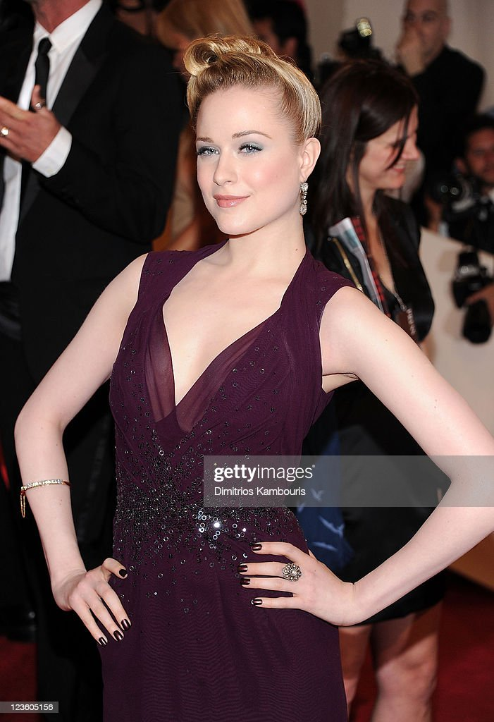 Actress Evan Rachel Wood attends the 'Alexander McQueen: Savage Beauty' Costume Institute Gala at The Metropolitan Museum of Art on May 2, 2011 in New York City.