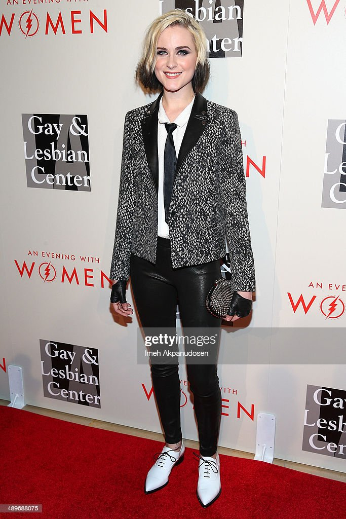 Actress <a gi-track='captionPersonalityLinkClicked' href=/galleries/search?phrase=Evan+Rachel+Wood&family=editorial&specificpeople=203074 ng-click='$event.stopPropagation()'>Evan Rachel Wood</a> attends The L.A. Gay & Lesbian Center's 2014 An Evening With Women (AEWW) at The Beverly Hilton Hotel on May 10, 2014 in Beverly Hills, California.