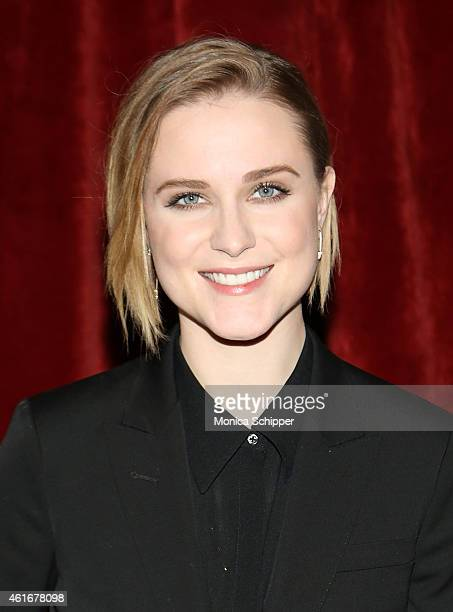 Actress Evan Rachel Wood attends The New York Special Screening Of Lucasfilm's STRANGE MAGIC At The Tribeca Grand Hotel on January 17 2015 in New...
