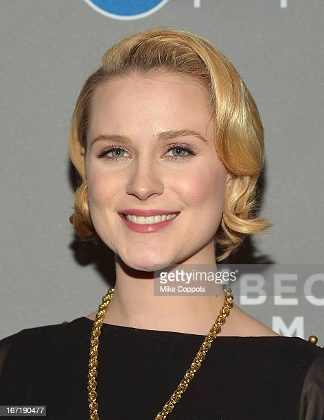 Actress Evan Rachel Wood attends the Tribeca Film Festival 2013 After Party 'A Case Of You' Sponsored By Diet Pepsi on April 21 2013 in New York City